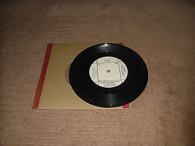"Ash - Chase The Spotlight / Evermore 7"" vinyl 1983 Heavy Metal Hard Rock"