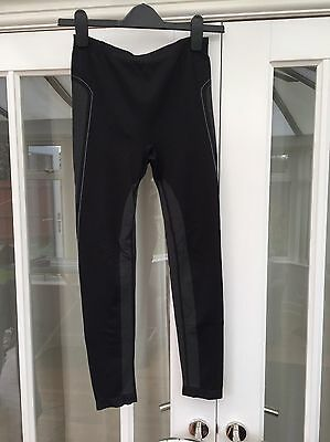Unisex Peter Storm Active Base layer Leggings Black Size XS-S Excel Cond