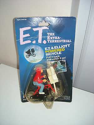 E. T. 1982 The Extra-Terrestrial E.t. & Elliott Powered Bicycle Ljn Brand New