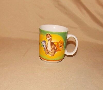 The Land Before Time Coffee Tea Mug Cup Little foot Cera Chomper