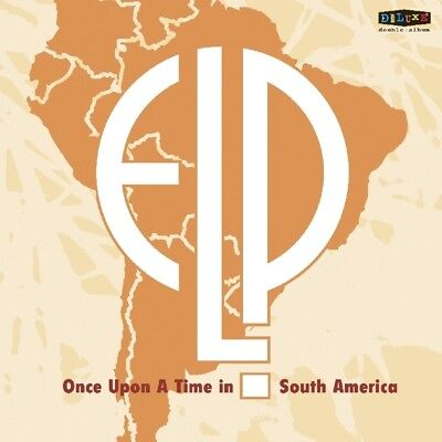 Emerson Lake and Palmer - Once Upon A Time In South America Vinyl LP (2)  NEU