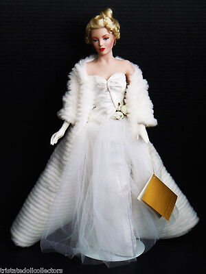 Porcelain Marilyn Monroe - All About Eve Doll - Franklin Mint - NRFB - Mint