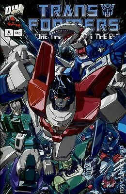 Transformers More Than Meets the Eye Official Guide (2003) #6 FN