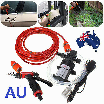 12V 70W High Pressure Self-priming Electric Car portable Wash Washer Water Pump