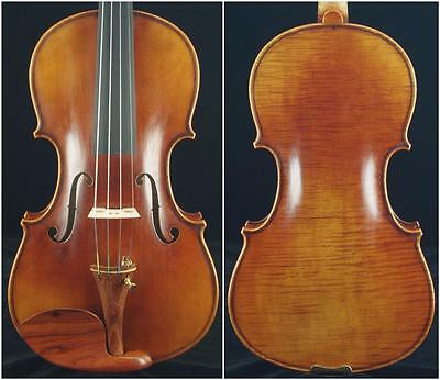 Collection-A Great Stradivari Messiah Style 4/4 Violin#6695 Master class