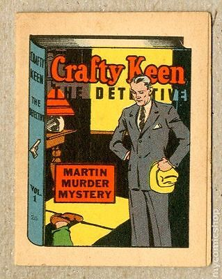 Thrilling Stories Crafty Keene Booklet #1 VF 8.0