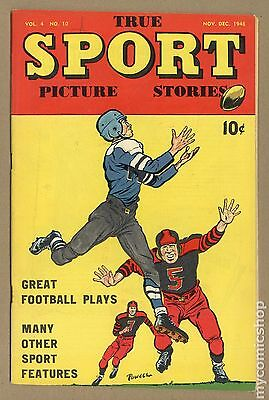 True Sport Picture Stories Vol. 4 (1947) #10 VG- 3.5
