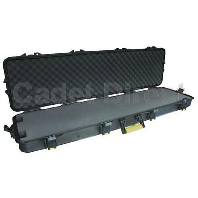 Plano AW Series Double Scoped Rifle Case, Yellow Handles
