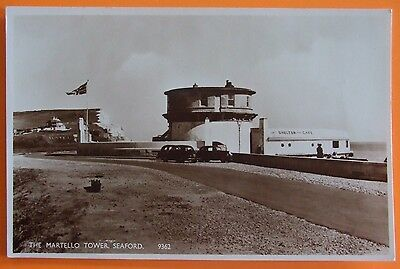 RP Postcard c.1950 THE MARTELLO TOWER SEAFORD SUSSEX