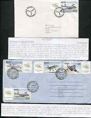 BELIZE (13912): Ireland/RYAN AIRLINES cancel/cover