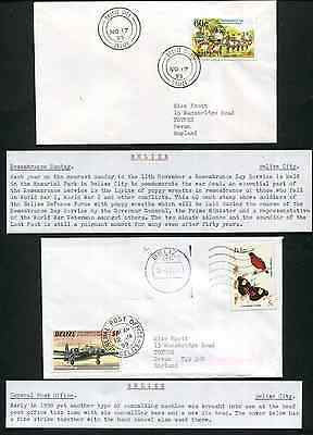 BELIZE (13913): tanks/birds/BELIZE cancel/cover