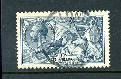 Great Britain  1918  10s Seahorse  (SG 417)  fine-used   (J1309)