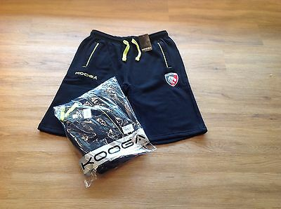 Leicester Tigers. Fleece Training Shorts. Small 30/34 Inches. New. X 2 Pairs
