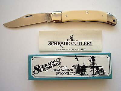 Usa Made Schrade 524Sc Tradesman Folding  Knife