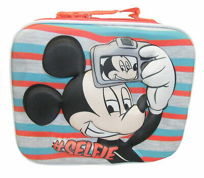 Disney Mickey Mouse 3D EVA Selfie School Lunch Bag