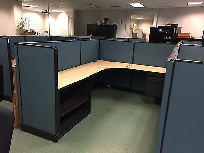 "6ft x 8ft x 50""H CUBICLES / PARTITIONS by HAWORTH OFFICE FURNITURE"