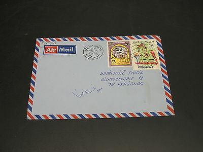 Libya 1976 airmail cover to Germany *5810