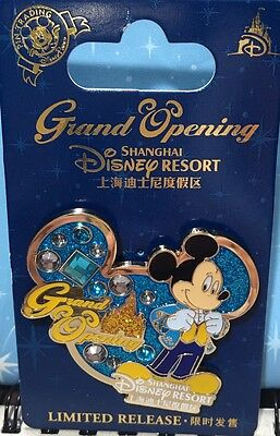 Shanghai Disney Land Resort Pin - Grand Opening Limited Released LR Mickey SHDL