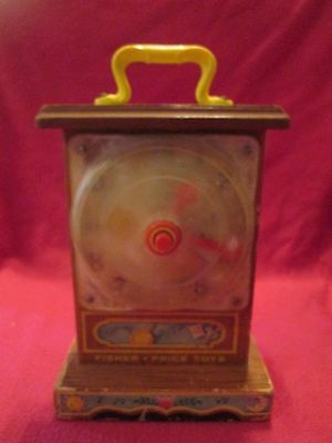 Fisher Price Toys Musical Tick Tock Teaching Clock 997 1962
