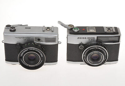 Two 35mm cameras, Zeiss Contessa S 310 - Voigtlander VF101, don't work