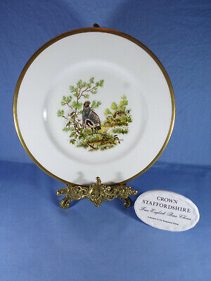 CROWN STAFFORDSHIRE BIRDS OF THE FIELDS & MOORLAND (The Partridge)