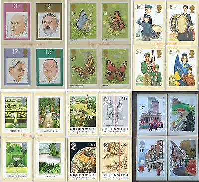 GB PHQ Cards Mint 1980 - 85 Discounts up to 25% extra available READ DESCRIPTION
