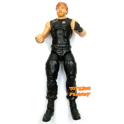 WWE The Shield Dean Ambrose Elite Wrestling Action Figure Kid Child Toy Mattel