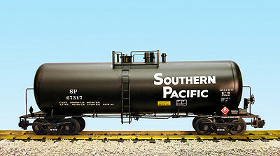USA Trains G Scale 42 Foot Modern Tank Car R15269  Southern Pacific - Black