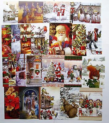 Hunkydory The Second Little Book of Christmas Toppers x 24 Sheets