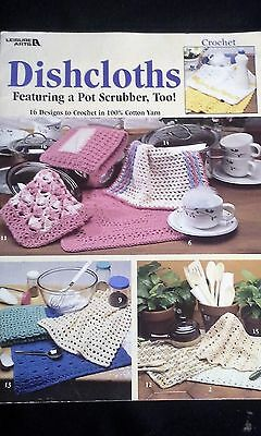 DISHCLOTHS - CROCHET Pattern Book - 16 Designs
