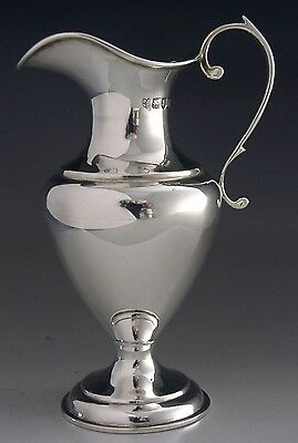 Beautiful English Sterling Silver Jug Holy Communion 1907
