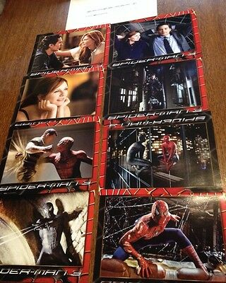 Lot - 8 Photos Cinema - Spider-Man 3 (2007) - Tobey Maguire - Kirsten Dunst