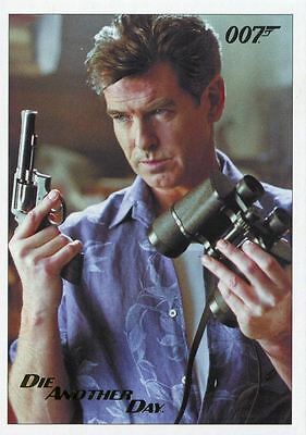 James Bond Archives 2017 Final Ed Die Another Day Gold Stamped Base Card #38
