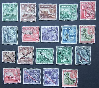 Malta - Selection of stamps