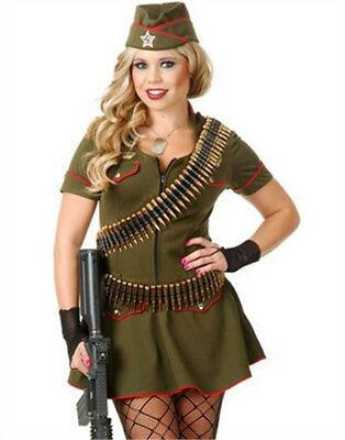 Deluxe Army Military Costume Accessory Bandolier 36 Bullet Belt