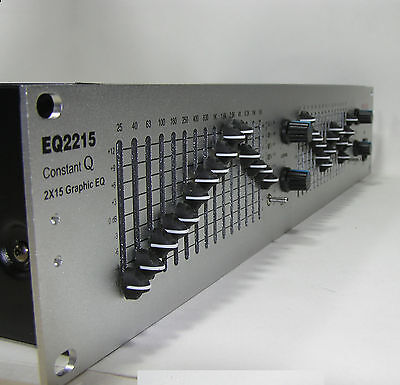 INOVA PRO EQ2215 Stereo 15 Band Graphic Equalizer  - New Boxed