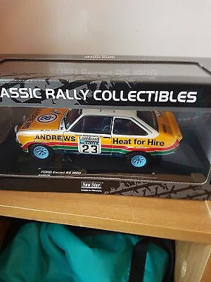 Sunstar 1/18 Scale 4460R Ford Escort RS1800 #23  RAC Rally 1977 R Brookes BOXED