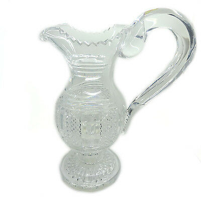 Waterford Crystal Museum Collection Claret Jug W/Swan Neck Handle, #30/50