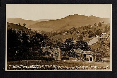 The Vale of Ashopton - real photographic postcard