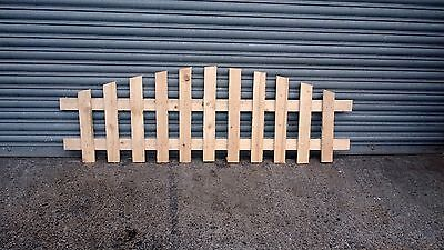 Picket Fence Panels - ARCHED TOP - 6' x 2' - *BARGAIN*1800mmx600mm