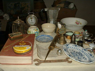 Interesting Job Lot Of Curios And Collectables And Bric A Brac Sold As Seen,