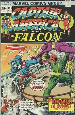 Captain America (1968 1st Series) #184 GD/VG 3.0 LOW GRADE