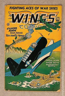 Wings Comics (1940) #46 GD 2.0