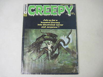 Creepy #16 Warren Horror Magazine 1967 Frank Frazetta Cover Steve Ditko