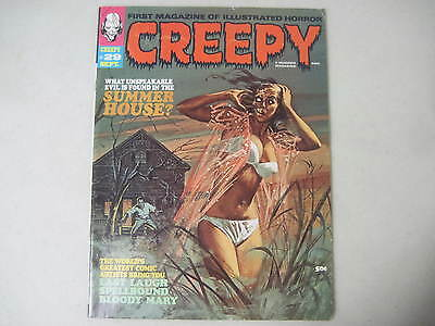 Creepy #29 Warren Horror Magazine 1969 Vic Prezio Jeff Jones Ernie Colon