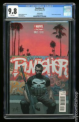 Punisher (2014 10th Series) #2B CGC 9.8 0309733002