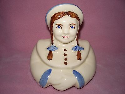 Vintage Shawnee Dutch Girl Cookie Jar Lid, (LID ONLY) Mint Condition