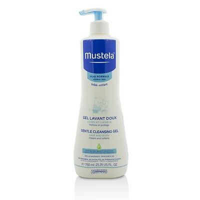 Mustela Gentle Cleansing Gel - Hair & Body 750ml Womens Skin Care