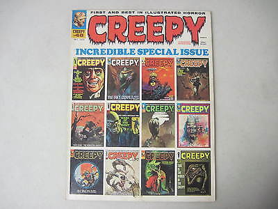 Creepy #48 Warren Horror Magazine 1972 Johnny Craig Al Williamson Wally Wood