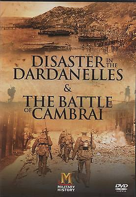 Disiaster in the Dardanelles and Battle of Cambrai World War 1 DVD